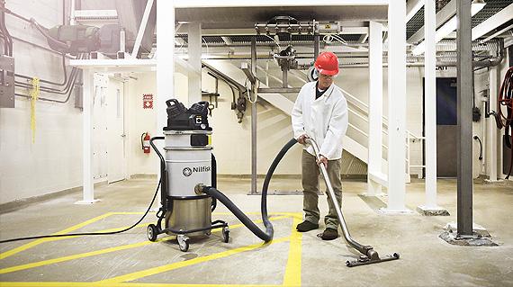 Applications Nilfisk Industrial Vacuums