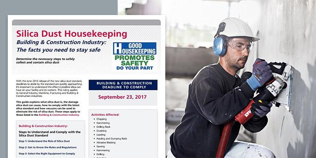 Silica Dust Housekeeping
