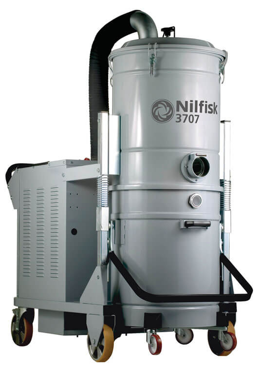3707 10 Industrial Vacuum Cleaner The Nilfisk