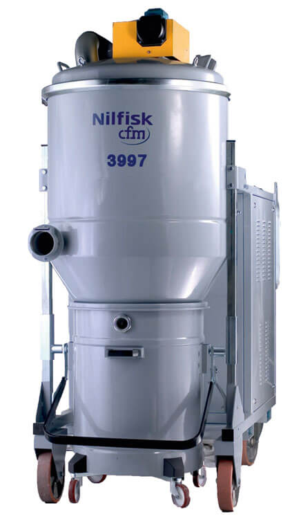 3707 10 Industrial Vacuum Cleaner Nilfisk Industrial Vacuums