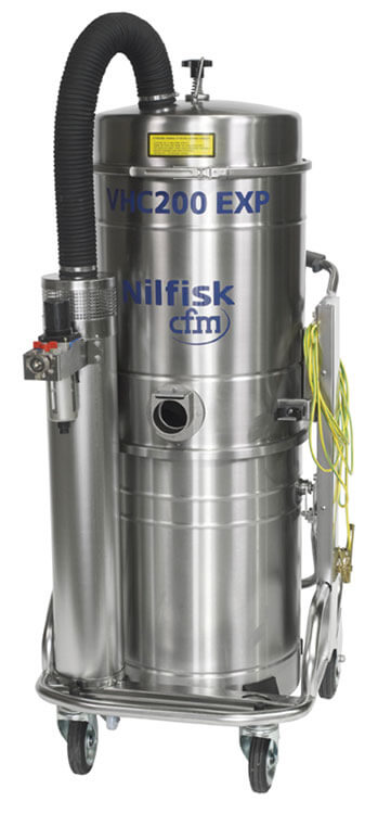 Explosion Proof Combustible Dust Safe Nilfisk Industrial