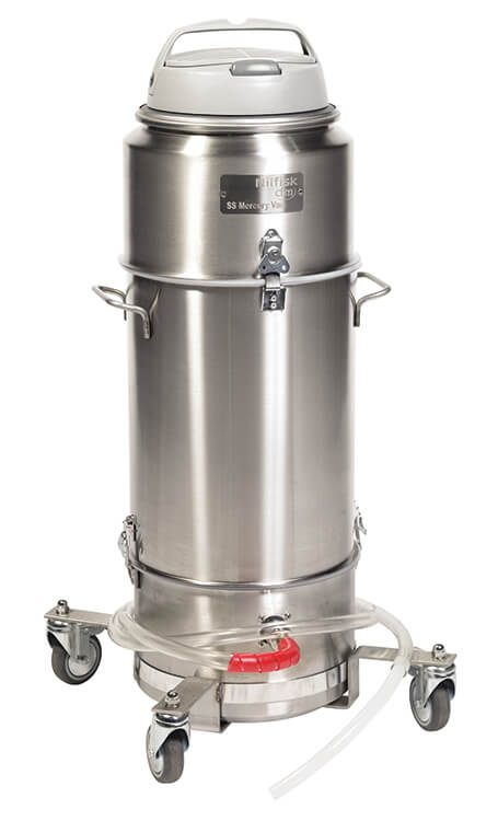 SS Mercury Vacuum Cleaner | Nilfisk Industrial Vacuums