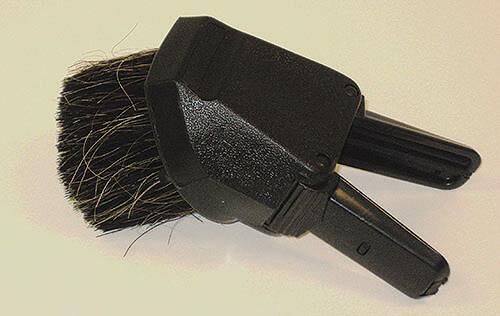 Round Brush/Upholstery Nozzle Combo