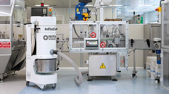 Pharmaceuticals | Nilfisk Industrial Vacuums