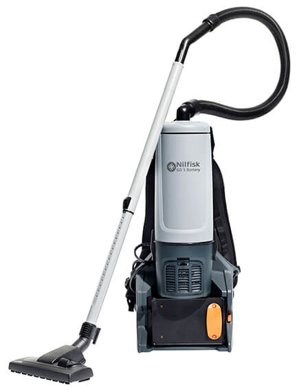 GD5 battery backpack vacuum